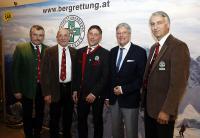 Miggitsch, Striednig, Hochstaffl, Dr. Kaiser, Mag. Weiß (v.l.)