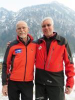 Die Referenten Ermes de Pol und Lorenz Geiger
