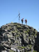 Gipfelkreuz Hohe Leier