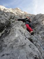 Markus Winkler steigt schon wieder vor: Monte Gusela