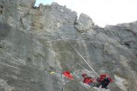 Gregor Probegen im Steilfels