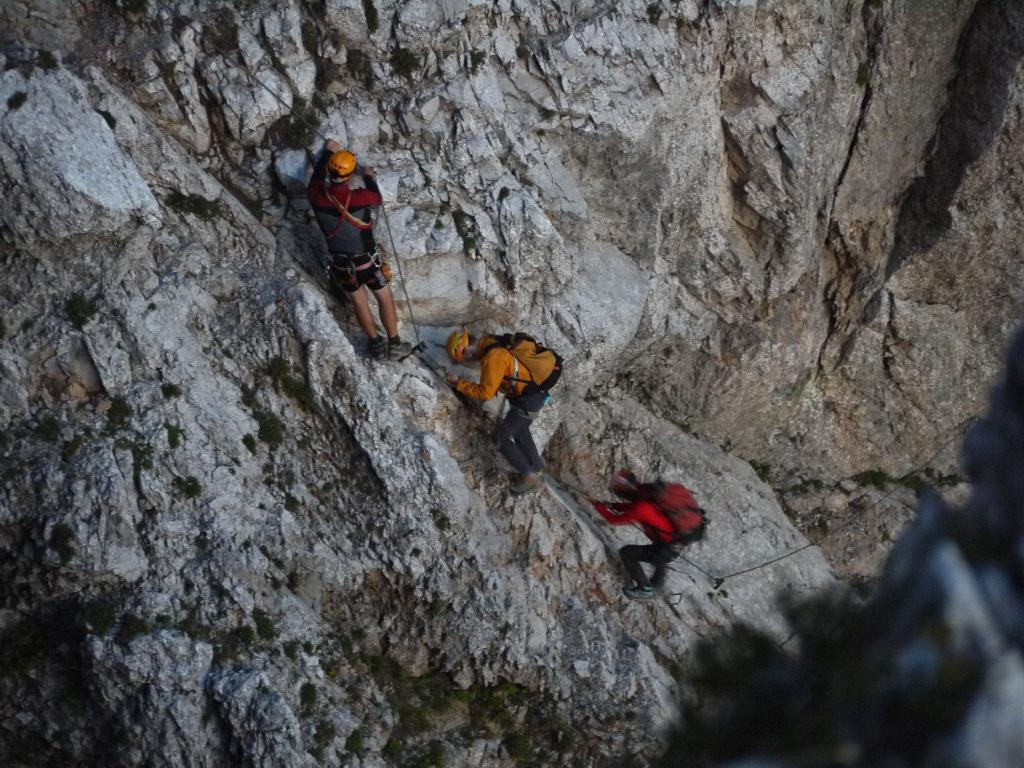 Klettersteig Kärnten : Bergeübung koschutnikturm klettersteig am ortsstelle