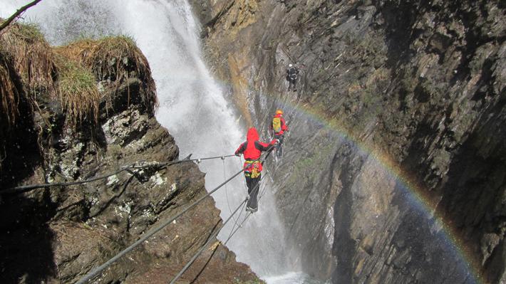 Klettersteig Kärnten : Klettersteigübung mai ortsstelle heiligenblut