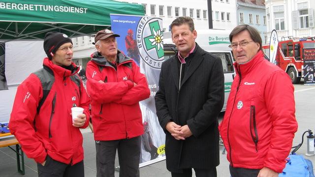 Bürgermeister Scheider stattet uns einen Besuch ab