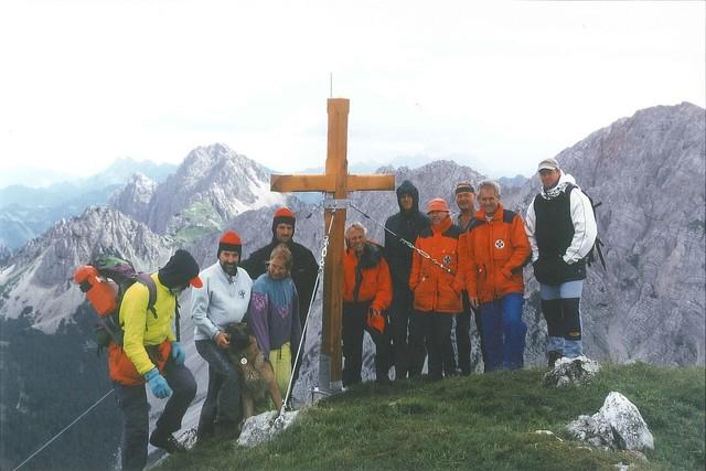 Gipfelkreuzerrichtung 9. August 1997