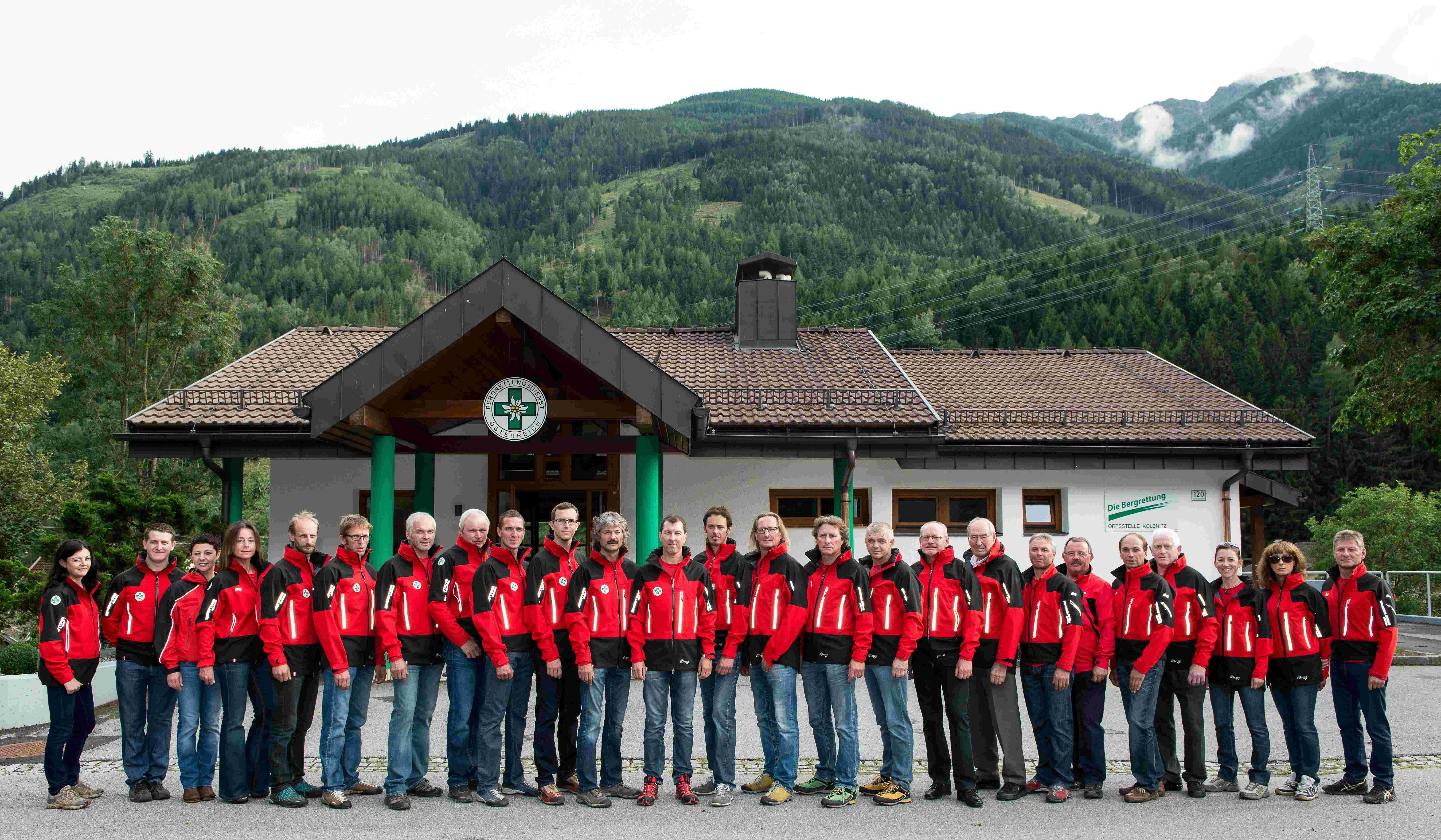 Mitglieder der OS Kolbnitz