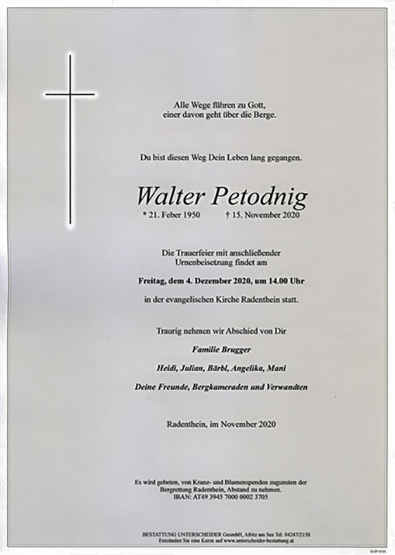 Parte Walter Petodnig